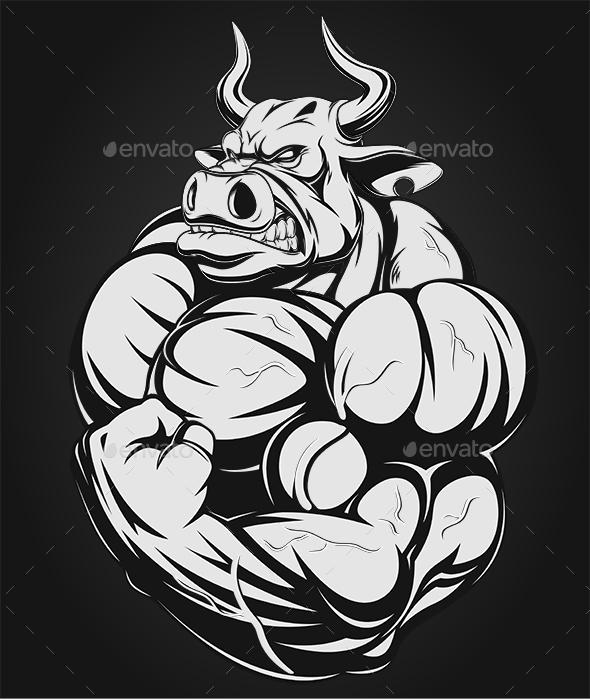Strong Bull - Sports/Activity Conceptual