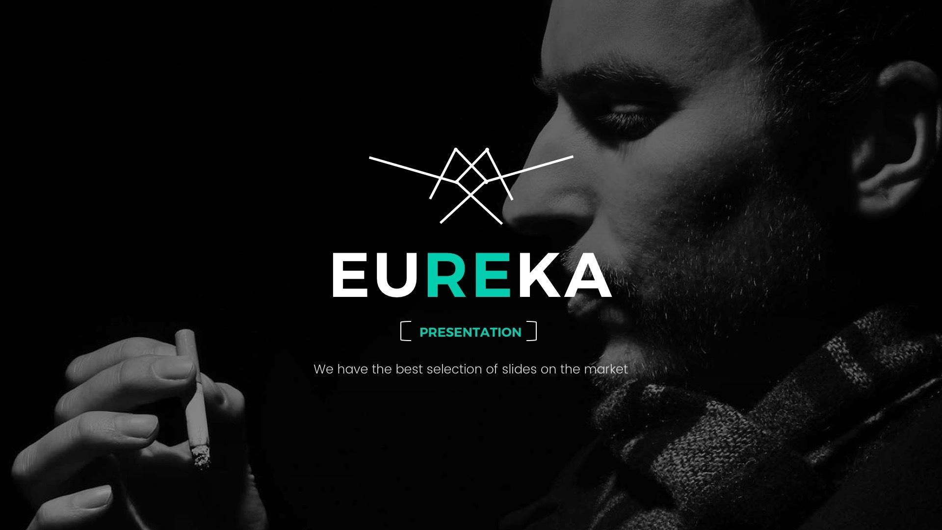 Eureka minimal powerpoint template by jetfabrik graphicriver eureka screenshotsslide001g toneelgroepblik Images