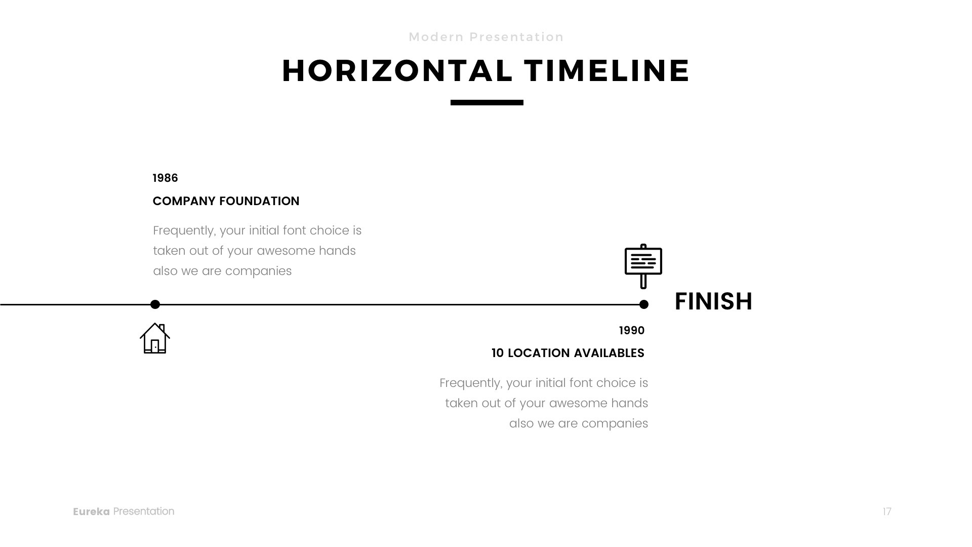 Eureka - Minimal PowerPoint Template by Jetfabrik | GraphicRiver