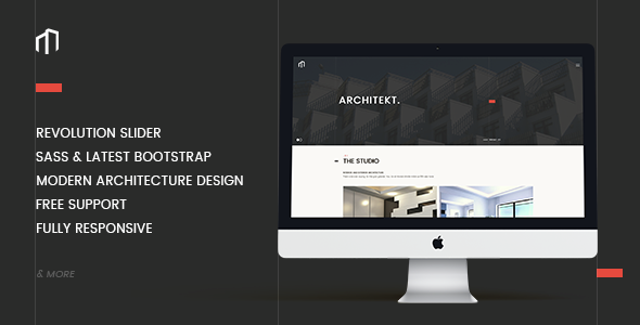 ARCHITEKT - Architecture Bootstrap Template - Creative Site Templates