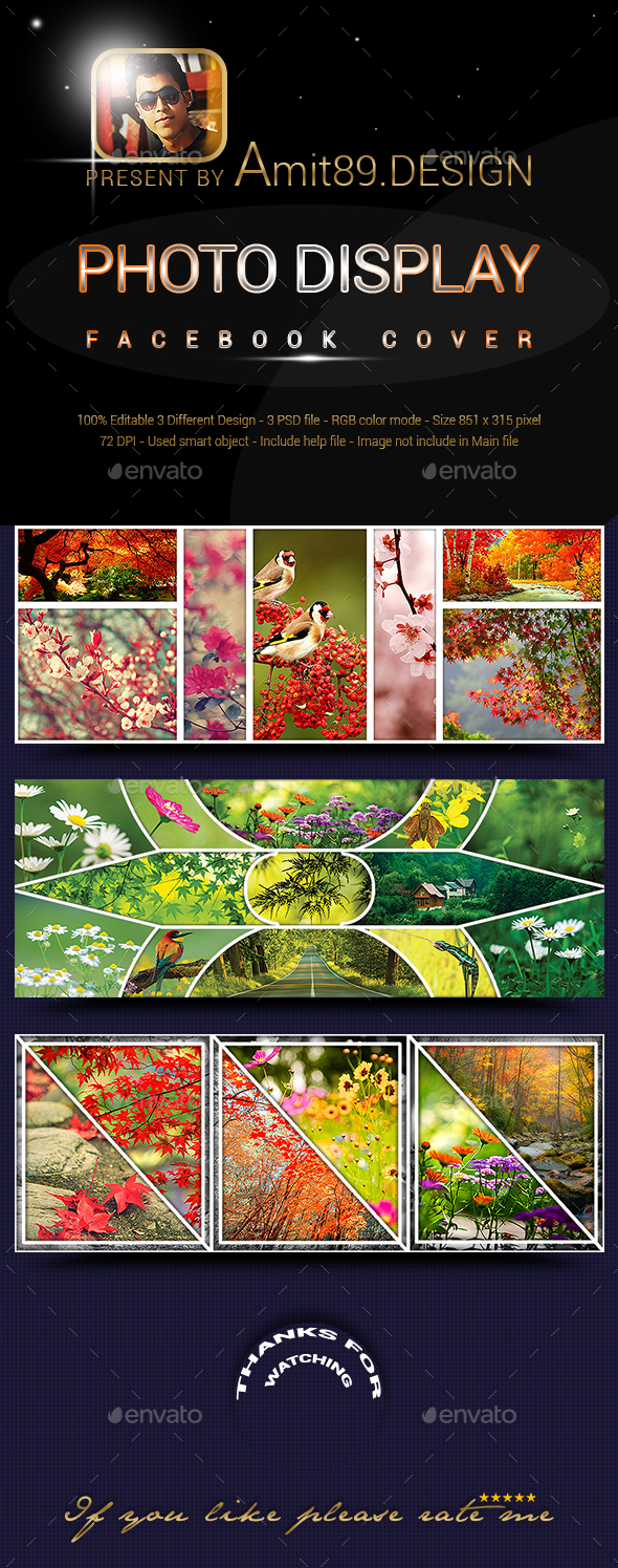 Photo Display Facebook Cover - Facebook Timeline Covers Social Media