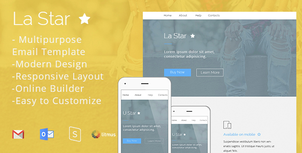 La Star – Responsive Email Template