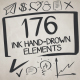 176 Ink Hand-Drown Elements - VideoHive Item for Sale