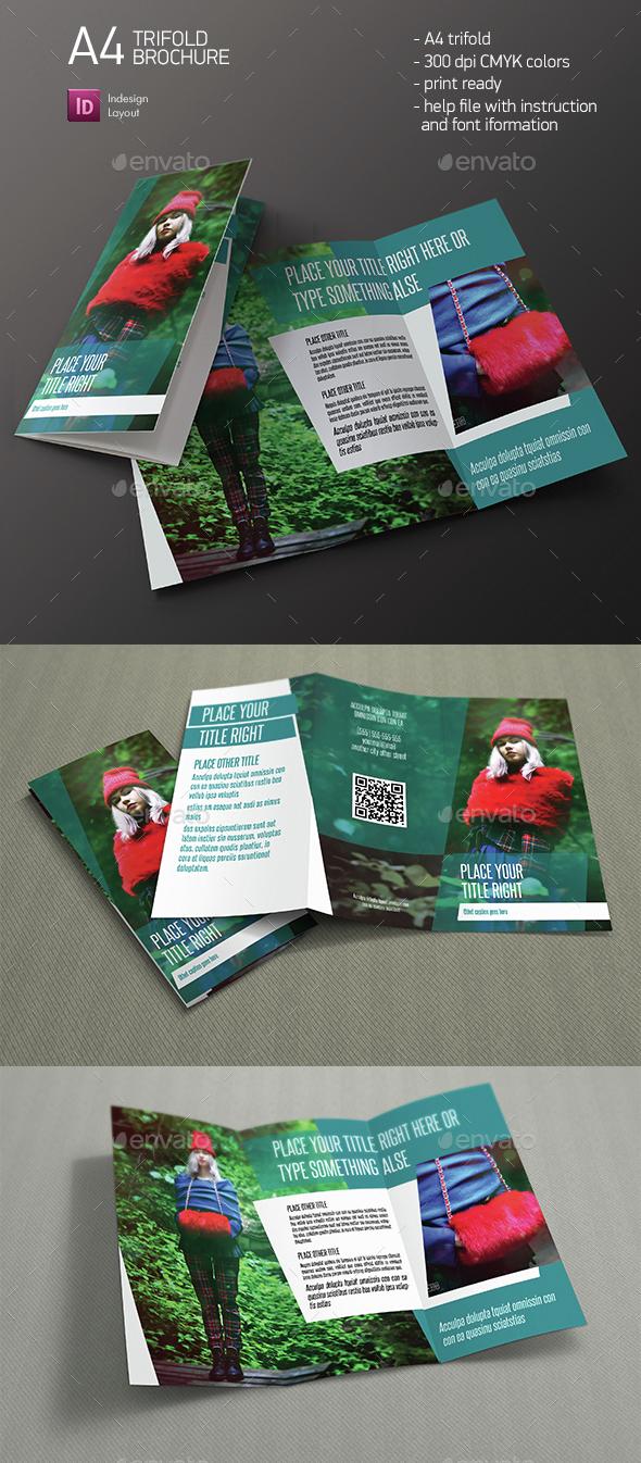 Angle Brochure - Brochures Print Templates