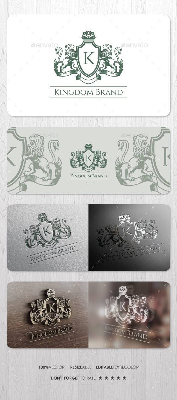 Kingdom Brand - Crests Logo Templates