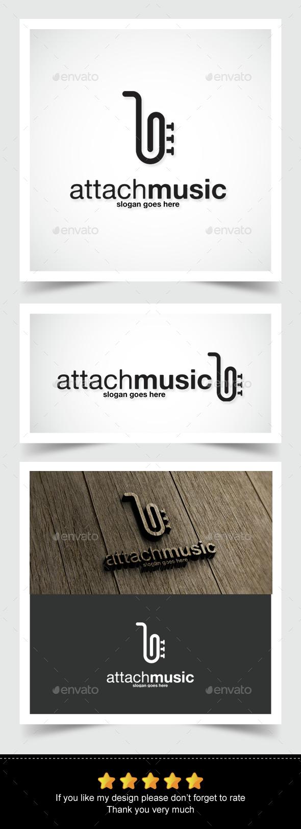 Attach Music Logo