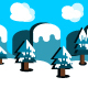 Snow Game Background - GraphicRiver Item for Sale