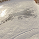 Aerial View of Frozen River with Snowy Banks - VideoHive Item for Sale