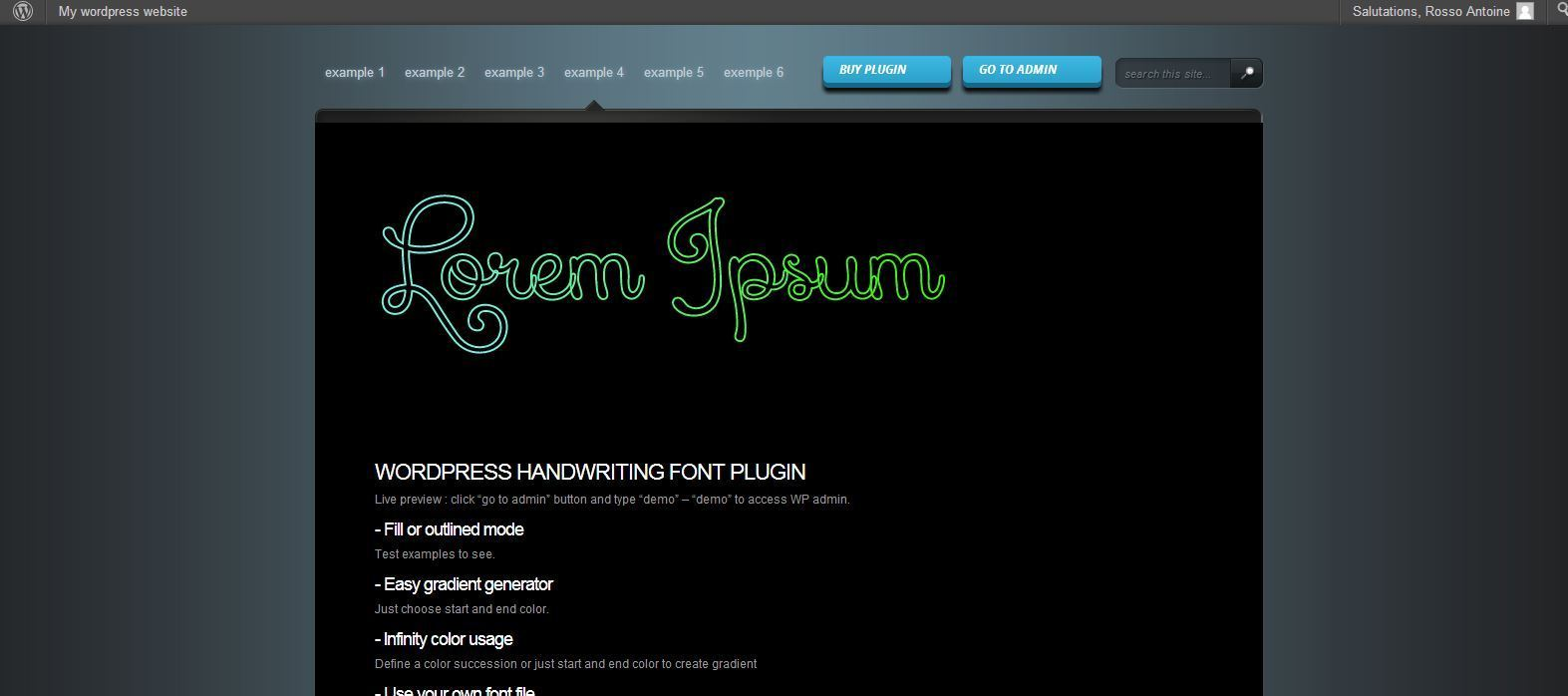 Handwriting Animated Text - SVG & Responsive