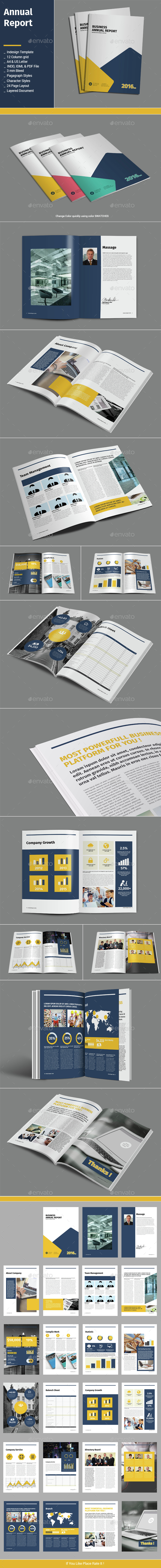 Annual Report - Informational Brochures