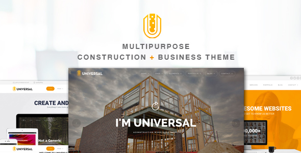 Universal – Business WordPress Theme