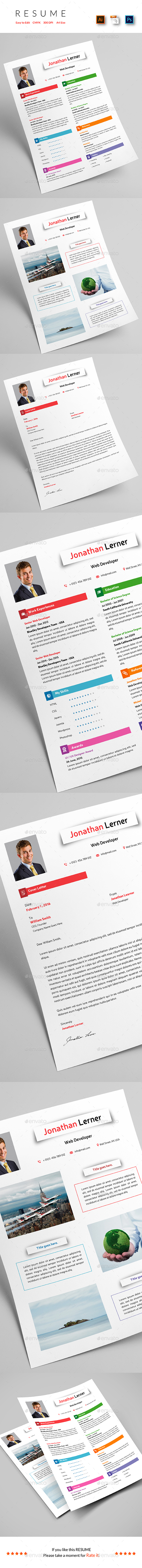 Resume + Portfolio - Resumes Stationery