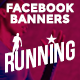 Facebook Banners - Running - GraphicRiver Item for Sale