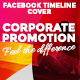 Facebook Timeline Cover - Corporate Promotion - GraphicRiver Item for Sale