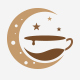 Moon Light Coffee Logo - GraphicRiver Item for Sale