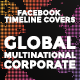 Facebook Timeline Covers - Global International Corporate - GraphicRiver Item for Sale