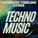 Facebook Timeline  Covers - Techno Music - GraphicRiver Item for Sale