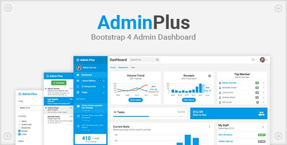 AdminPlus Premium – Bootstrap 4 Admin Dashboard