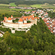 Aerial Footage of a Castle and Village - VideoHive Item for Sale