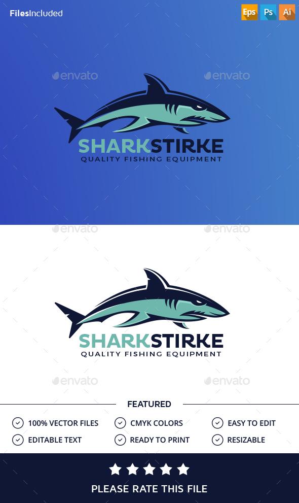 Shark Logo - Animals Logo Templates