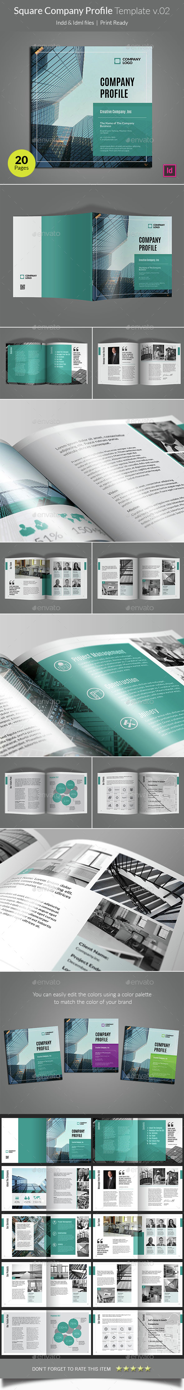 Company Profile Template V02 By Heriwibowo Graphicriver