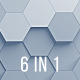Hexagons Backgrounds - VideoHive Item for Sale
