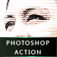 Typography Portrait Photoshop Action - GraphicRiver Item for Sale