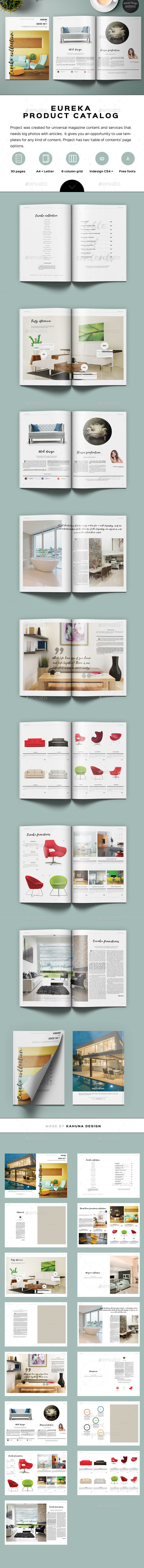 Eureka Product Catalog Design - Catalogs Brochures