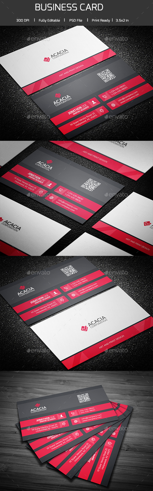 Bashonti Business Card - Corporate Business Cards