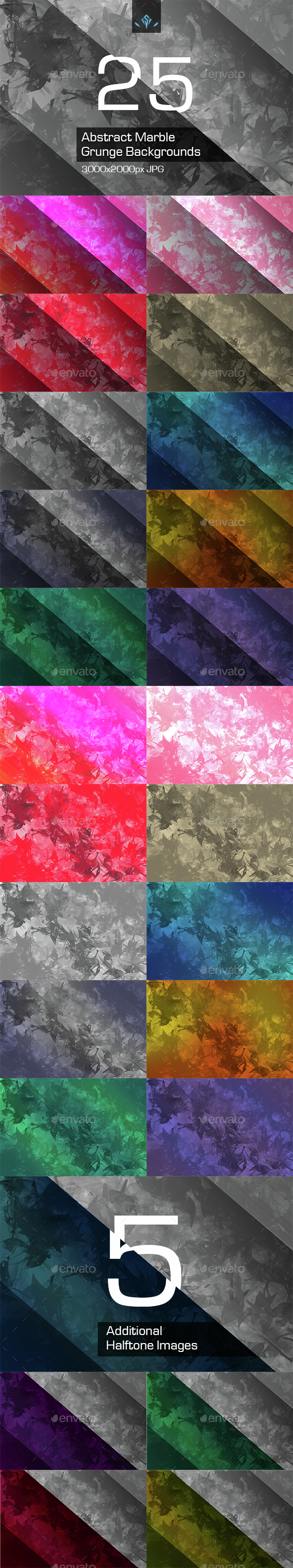 Abstract Marble Grunge Backgrounds - Abstract Backgrounds