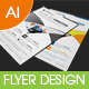 Multipurpose Business Flyer Template Vol-12 - GraphicRiver Item for Sale