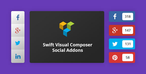 Swift Visual Composer Social Addons - CodeCanyon Item for Sale