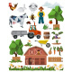 Farm Icons - GraphicRiver Item for Sale