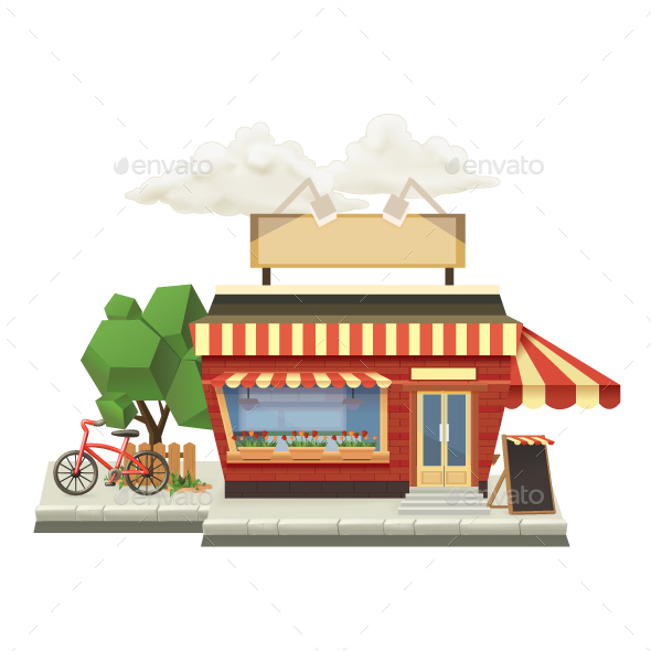 Shop Icon  - Buildings Objects
