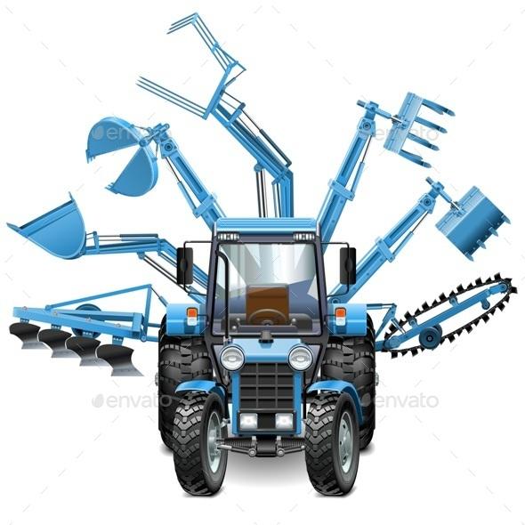 Tractor Multi Equipment - Industries Business