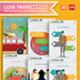 Love Travel Infographics Design - GraphicRiver Item for Sale