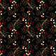 Seamless Flower Dark Pattern - GraphicRiver Item for Sale