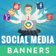 Social Media Banners - GraphicRiver Item for Sale