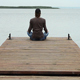 Meditation Near The Water - VideoHive Item for Sale