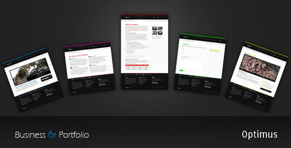 Optimus Business and Portfolio - Portfolio Creative