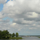 Clouds Over The River - VideoHive Item for Sale