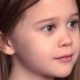 Portrait Of Emotional Little Girl - VideoHive Item for Sale