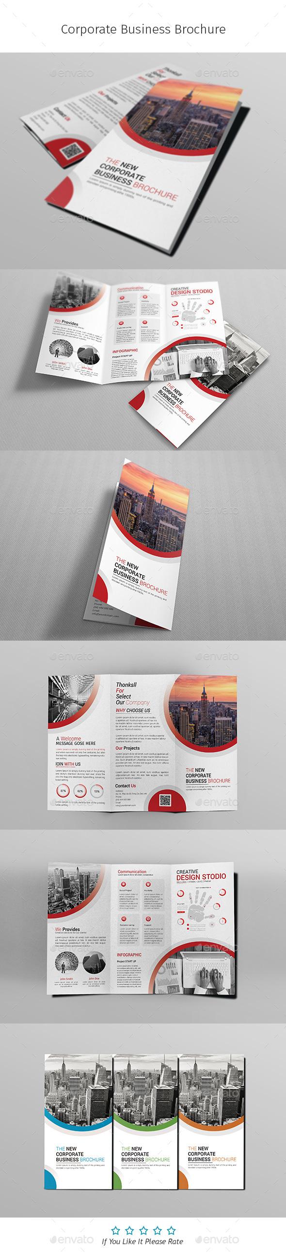 A4 Corporate Business Flyer Template Vol 03 - Corporate Brochures