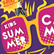 Kids Summer Camp Flyer V2 - GraphicRiver Item for Sale