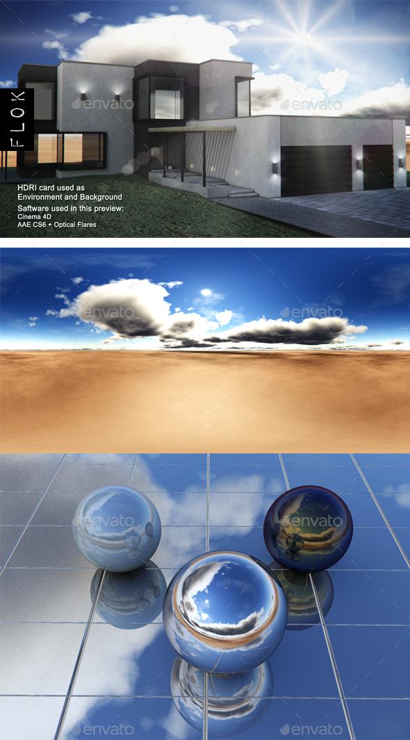Daylight Desrt 25 - 3DOcean Item for Sale