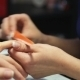 Manicure. Nail Polish Nail File - VideoHive Item for Sale
