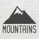 Mountain Vintage Badges Set - GraphicRiver Item for Sale
