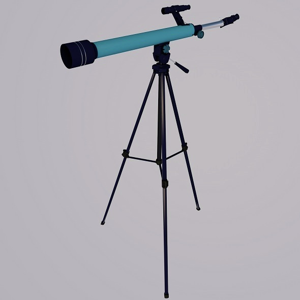 Refractor Telescope - 3DOcean Item for Sale