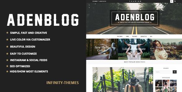 Aden – Responsive Blog Theme