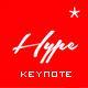 Hype - Modern Keynote Template - GraphicRiver Item for Sale